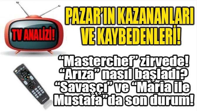 PAZAR'IN KAZANANLARI  VE KAYBEDENLERİ!
