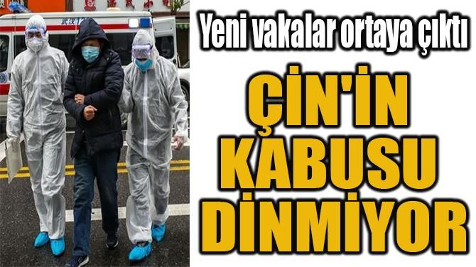 ÇİN'İN  KABUSU  DİNMİYOR