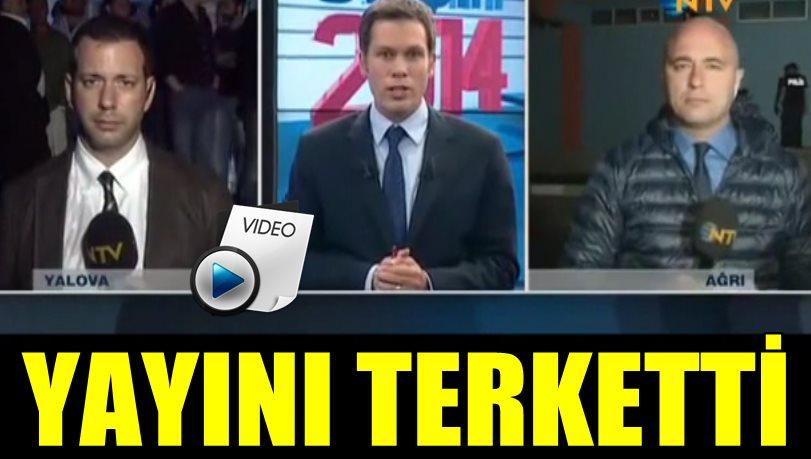 NTV'DE MUHABİR ŞOKU! SPİKER İLK SÖZ HAKKINI DİĞER MUHABİRE VERİNCE YAYINI TERKETTİ!