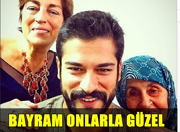 BAŞARILI OYUNCU BURAK ÖZÇİVİT'İN BAYRAMDA TERCİHİ ONLARDAN YANA!..
