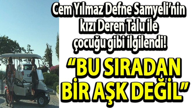 DEREN'İ BİRLİKTE YOLCU ETTİLER!