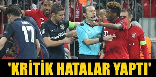 UEFA ŞAMPİYONLAR LİGİ YARI FİNALİNİN ARDINDAN MAÇA DAMGA VURAN İSİM FIFA KOKARTLI HAKEMİMİZ CÜNEYT ÇAKIR OLDU!..