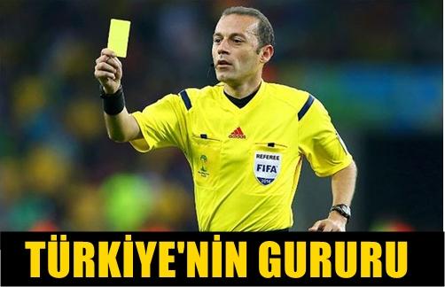 DÜNYADA İLK OLAN BİR OLAYI CÜNEYT ÇAKIR BAŞARDI!.. HAKEMİMİZ UEFA'NIN TEAMÜLLERİNİ YIKTI!..