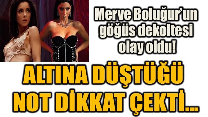 ALTINA DÜŞTÜĞÜ NOT DİKKAT ÇEKTİ...