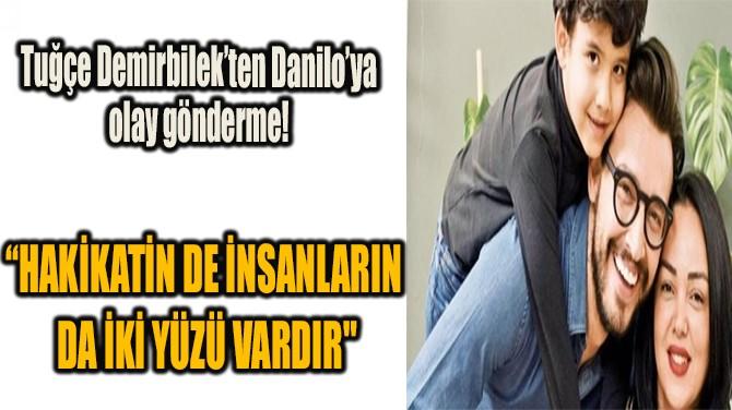 """""""HAKİKATİN DE İNSANLARIN DA İKİ YÜZÜ VARDIR"""""""
