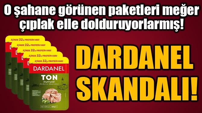 DARDANEL  SKANDALI!