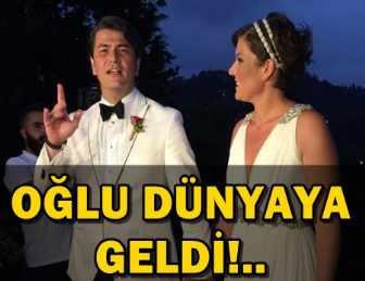 VATAN ŞAŞMAZ'IN EŞİ YASEMİN ADALI DOĞUM YAPTI!..