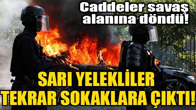 SARI YELEKLİLER TEKRAR SOKAKLARA ÇIKTI!
