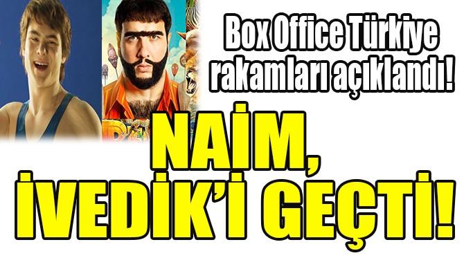 NAİM, İVEDİK'İ GEÇTİ!