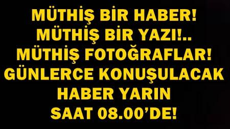 """UÇANKUŞ EKİBİNDEN ÇOK KONUŞULACAK """"YILIN OLAYI"""" YARIN SABAH!.."""