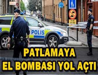 İSVEÇ'İN BAŞKENTİ STOKHOLM'DEKİ BİR METRO İSTASYONUNDA PATLAMA!