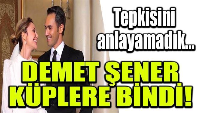 DEMET ŞENER KÜPLERE BİNDİ!