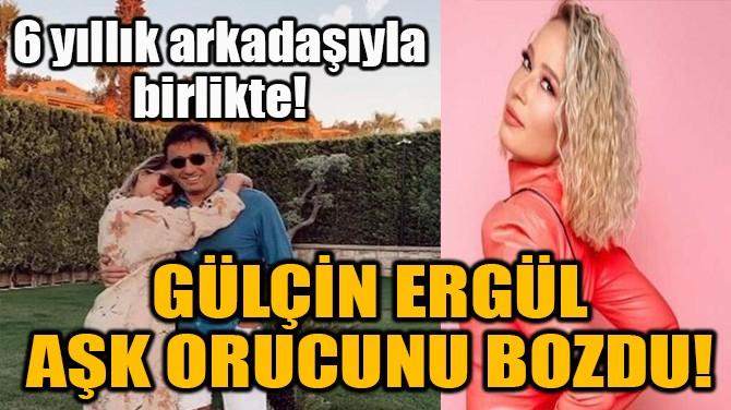 ÜNLÜ ŞARKICI AŞK ORUCUNU BOZDU!