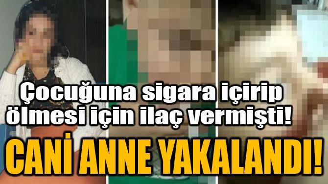 CANİ ANNE YAKALANDI!
