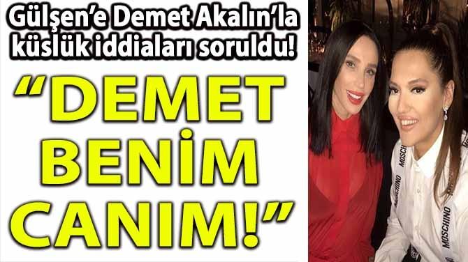 """""""DEMET BENİM CANIM!"""""""