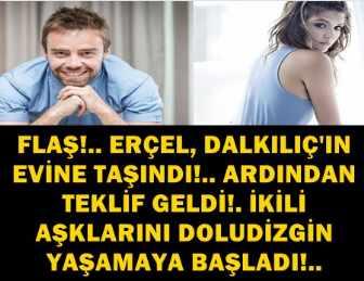 MURAT DALKILIÇ'TAN, SEVGİLİSİ HANDE ERÇEL'E OLAY TEKLİF!..