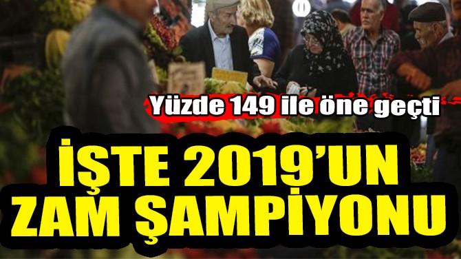 İŞTE 2019'UN ZAM ŞAMPİYONU!