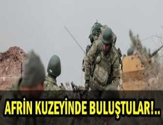 AFRİN'DE KUŞATMA TAMAMLANDI! BİRLİKLER BULUŞTU!