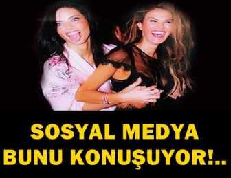 ADRIANA LIMA'DAN TÜLİN ŞAHİN'E MÜSTEHCEN ŞAKA!..