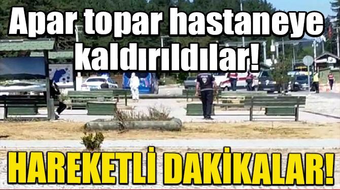 KARANTİNAYA UYMAYAN 2 KİŞİ ABANT TABİAT PARKI'NA GİTTİ!