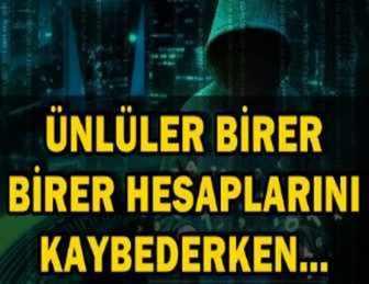 ÜNLÜLERİN KABUSU OLAN 'HACKER'LAR HAKKINDA ŞOK GELİŞME!..