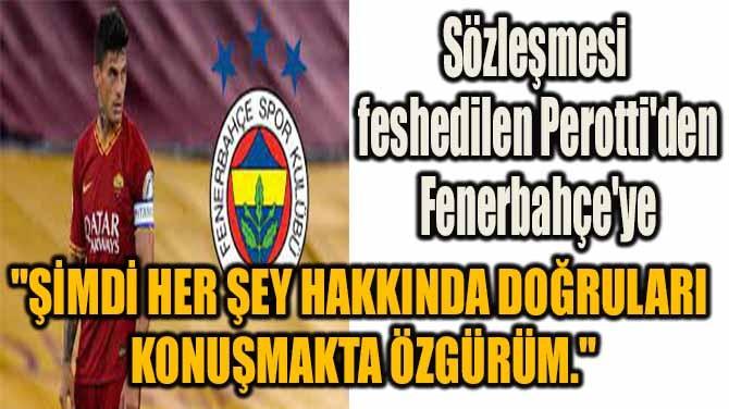 PEROTTİ'DEN AYRILIK SONRASI OLAY PAYLAŞIM!