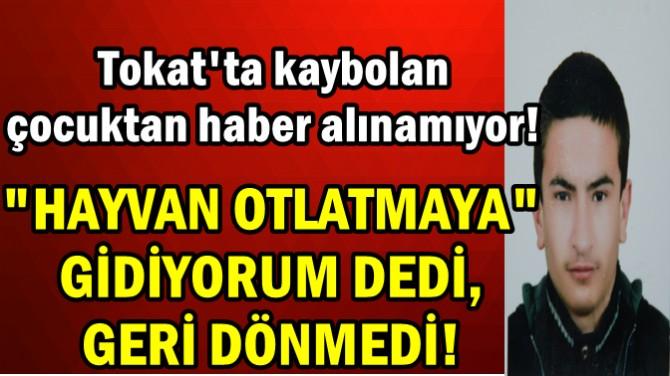 """""""HAYVAN OTLATMAYA GİDİYORUM"""" DEDİ, GERİ DÖNMEDİ"""