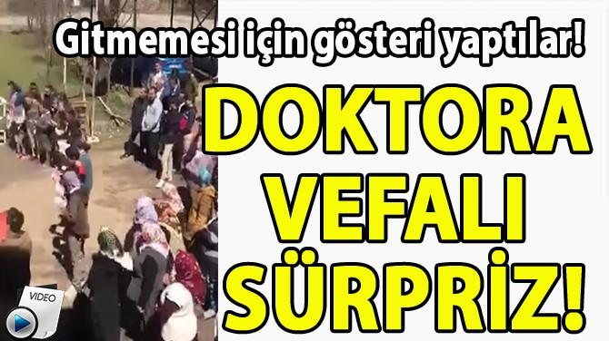 DOKTORA VEFALI SÜRPRİZ!