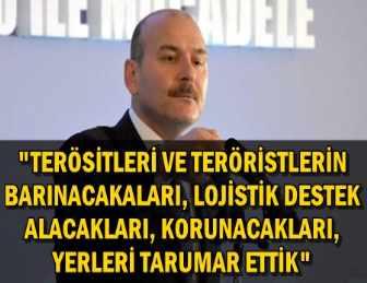 """SÜLEYMAN SOYLU: """"1 NİSAN'DA BAŞLADIK, 15 EKİM'E KADAR SÜRECEK!"""""""