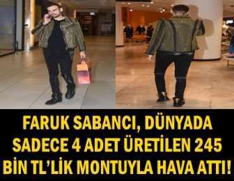 """SABANCI'DAN """"BİZDE EKONOMİ İYİ GİDİYOR"""" İMAJI: 245 BİN'LİK MONT!"""