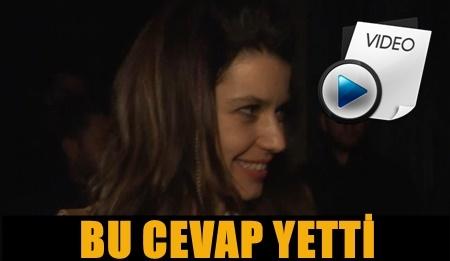 BEREN SAAT'TEN KENAN DOĞULU SORUSUNA MANİDAR TEPKİ!..