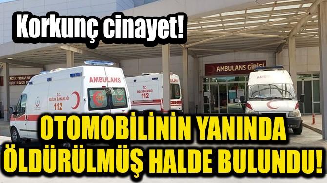 OTOMOBİLİNİN YANINDA ÖLDÜRÜLMÜŞ HALDE BULUNDU!