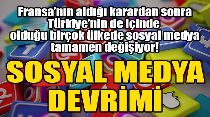 SOSYAL MEDYA DEVRİMİ!