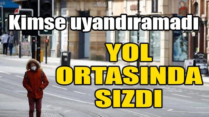 YOL ORTASINDA SIZDI! KİMSE UYANDIRAMADI!