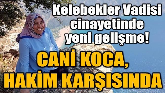 CANİ KOCA, HAKİM KARŞISINDA!