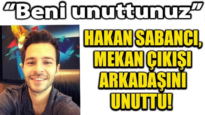 """""""BENİ UNUTTUNUZ"""""""