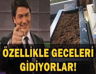 FLAŞ!.. VATAN ŞAŞMAZ'IN MEZARINI KİMLER GİZLİCE ZİYARET ETTİ?..