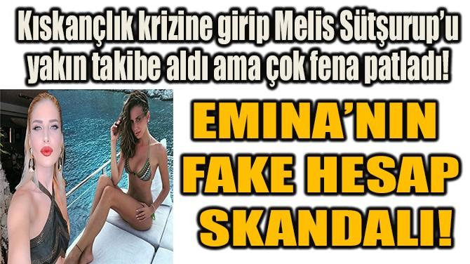 EMINA'NIN FAKE HESAP SKANDALI!