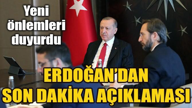 CUMHURBAŞKANLIĞI KABİNE TOPLANTISI SONA ERDİ!