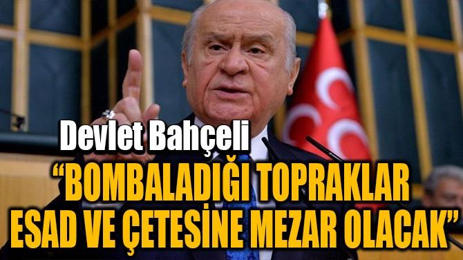 """""""BOMBALADIĞI TOPRAKLAR  ESAD VE ÇETESİNE MEZAR OLACAK"""""""