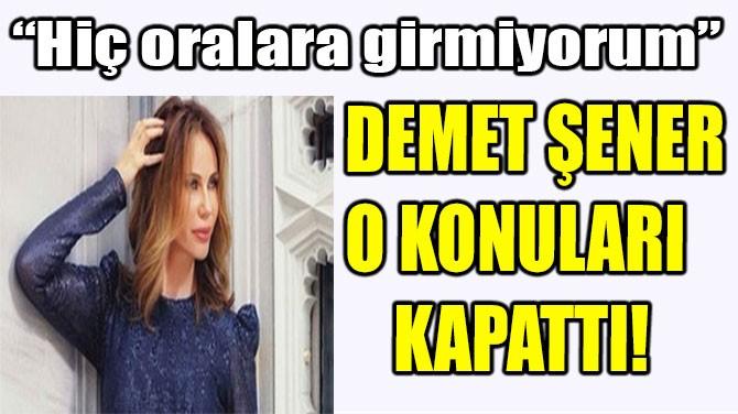 DEMET CENK ŞARHOŞU!