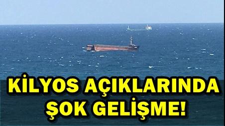 SARIYER 'DE YÜK GEMİSİ ORTADAN İKİYE AYRILDI!..