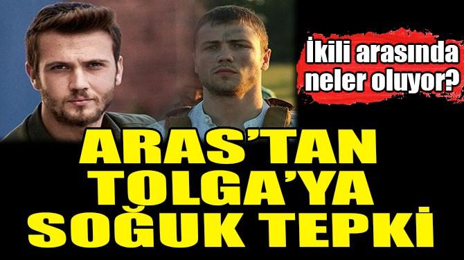 ARAS BULUT İYNEMLİ'DEN TOLGA SARITAŞ'A SOĞUK TEPKİ
