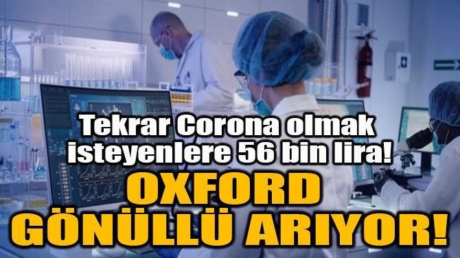 OXFORD GÖNÜLLÜ ARIYOR!