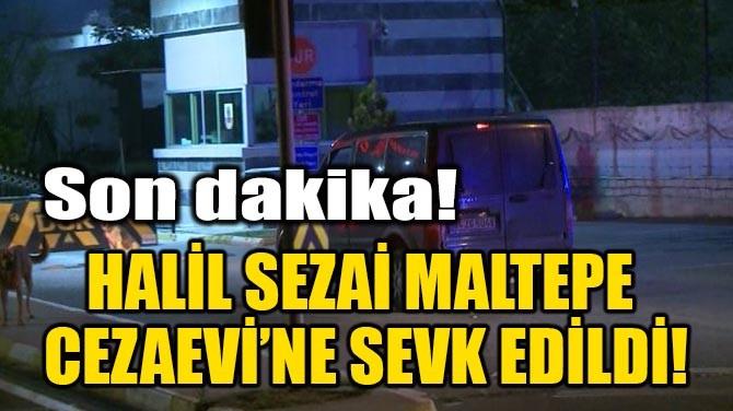 HALİL SEZAİ MALTEPE CEZAEVİ'NE GETİRİLDİ!