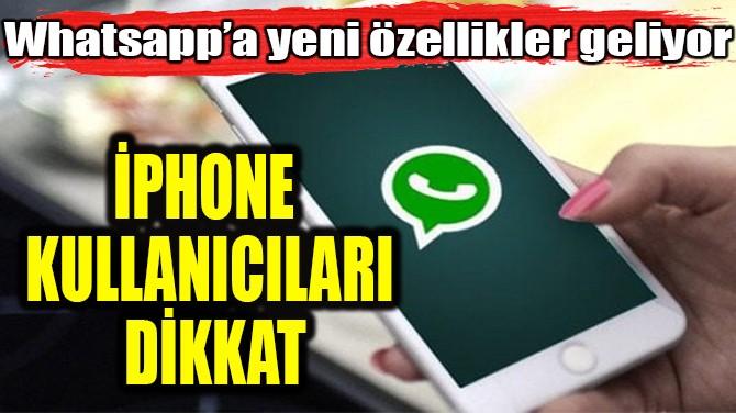 İPHONE KULLANICILARI DİKKAT!