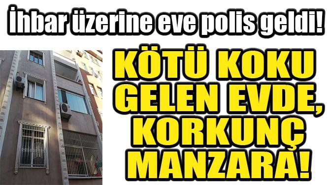 KÖTÜ KOKU GELEN EVDE, KORKUNÇ MANZARA!