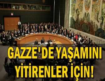 BİRLEŞİK MİLLETLER, GAZZE İÇİN TOPLANACAK!
