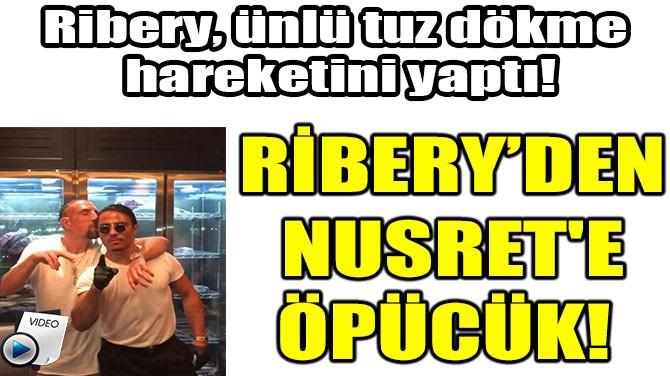 YILDIZ FUTBOLCUDAN NUSRET'E ÖPÜCÜK!