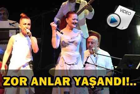 CANDAN ERÇETİN, KONSER ALANINA GAZETECİLERİ ALDIRMADI!..